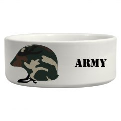 Army Dog Bowl
