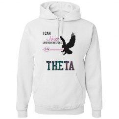 Theta Glitter Hoodie