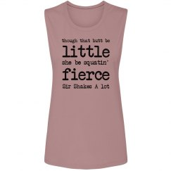 Little And Fierce Trendy Tank