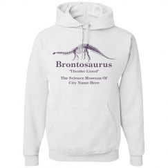 Brontosaurus Retro 80's Science