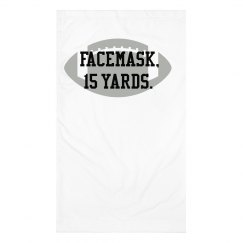 Facemask, 15 yards. Gaiter
