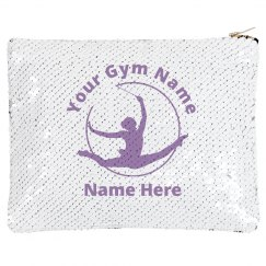 Custom Gymnastics Sequin Bag