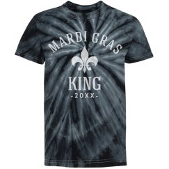 Custom Mardi Gras King Black