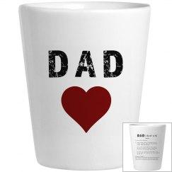 Dad'a Shot Glass 1 Alternative Dictionary