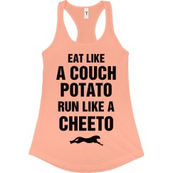 Funny Running Workout Tanks