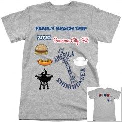 2020 beach trip
