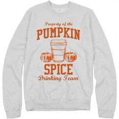 Property Of Pumpkin Spice Lattes