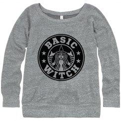 Basic Witch Halloween & Coffee