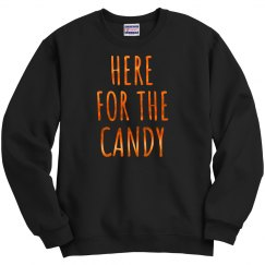 Here For Halloween Candy