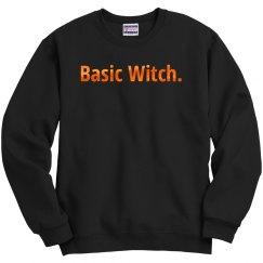 Orange Metallic Basic Witch