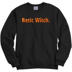 Orange Metallic Basic Witch