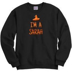 Metallic I'm A Sarah Witch