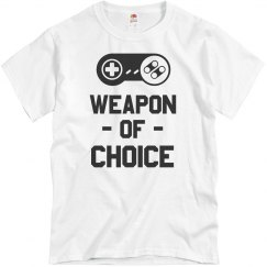 Weapon Of Choice Video Game