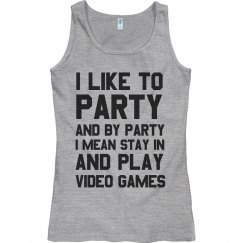 I Like To Party... With Video Games