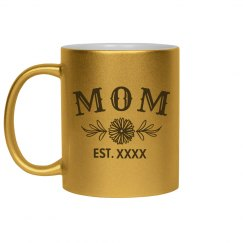 Custom Metallic Mom Mug
