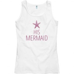 His Mermaid Matching Couple Tank