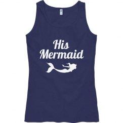 His Mermaid Nautical Beach Tank
