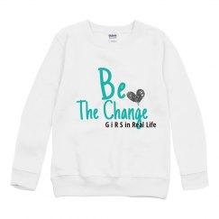 Youth Crewneck Basic Sweatshirt