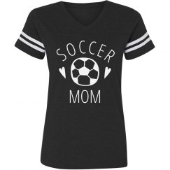 Cute And Trendy Soccer Mom