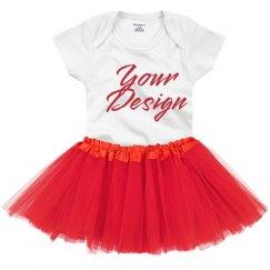 Custom Tutu Onesie Set Outfit