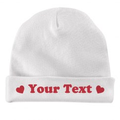 Valentine's Day Custom Text Baby