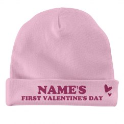 Custom Name's First Valentine's Day
