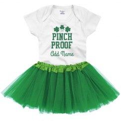 Pinch Proof Custom St. Patrick's Baby