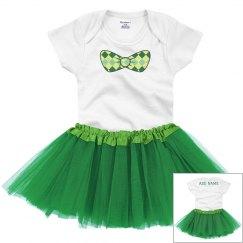 Irish Bow Custom St. Patrick's Baby