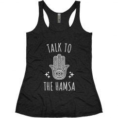 Talk to the Hamsa Yoga