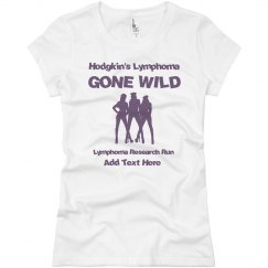 Lymphoma Gone Wild Tee