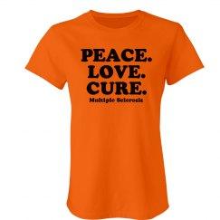 Peace. Love. MS Cure