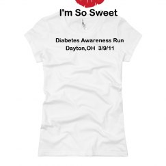 Im So Sweet  Diabetes Tee