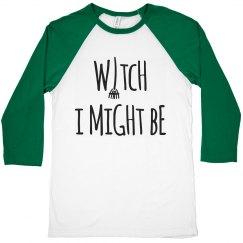 Halloween Witch Crop Top