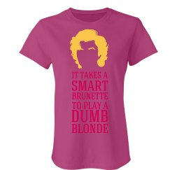 Smart Brunette Marilyn