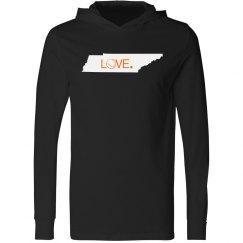 Tennessee Tennis State Love Tshirt hoodie