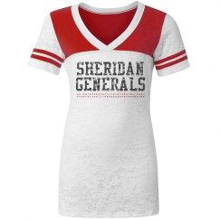 Sheridan Generals tee