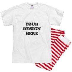 Unisex Pajama 1x1 Rib Bottom Set