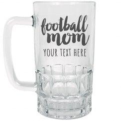 Custom Football Mom Stein