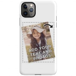 Add Text & Photos to a Custom iPhone 11 Pro Max Case