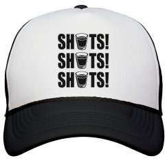 Shots! Shots! Shots! Drinking Hat