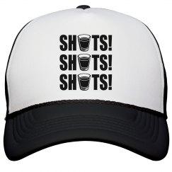 Shots! Shots! Shots! Drinking Hat