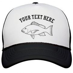 Customized Fishing Hat
