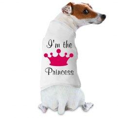 I'm The Princess Dog Tee