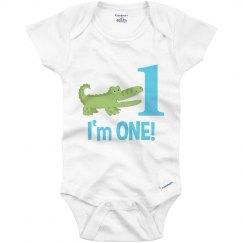 Alligator 1st Birthday