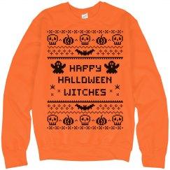 Ugly Sweater Orange Bat