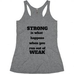 Strong or Weak