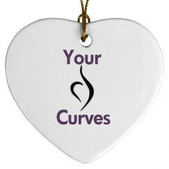 Love Your Curves Tree Ornament
