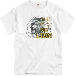 Unisex Bold as a Lion