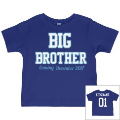 Big Brother announcement shirt