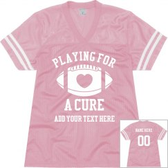 Playing for a Cure Football Jersey